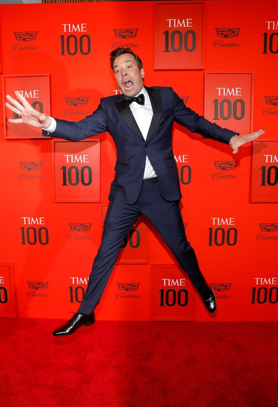 Jimmy Fallon au Time 100 Gala à New York le 23 avril 2019