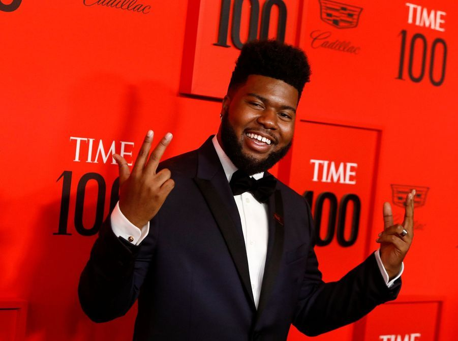 Khalid au Time 100 Gala à New York le 23 avril 2019