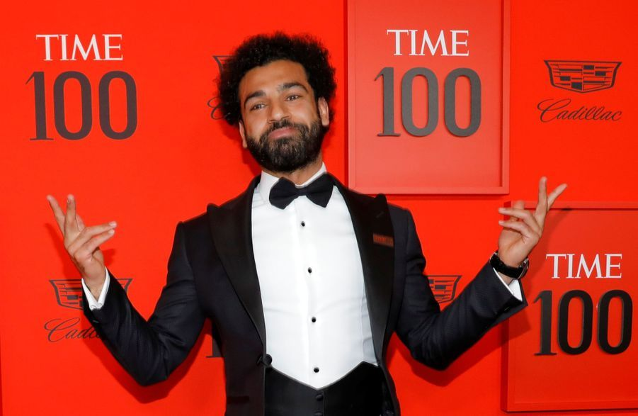 Mohamed Salah au Time 100 Gala à New York le 23 avril 2019
