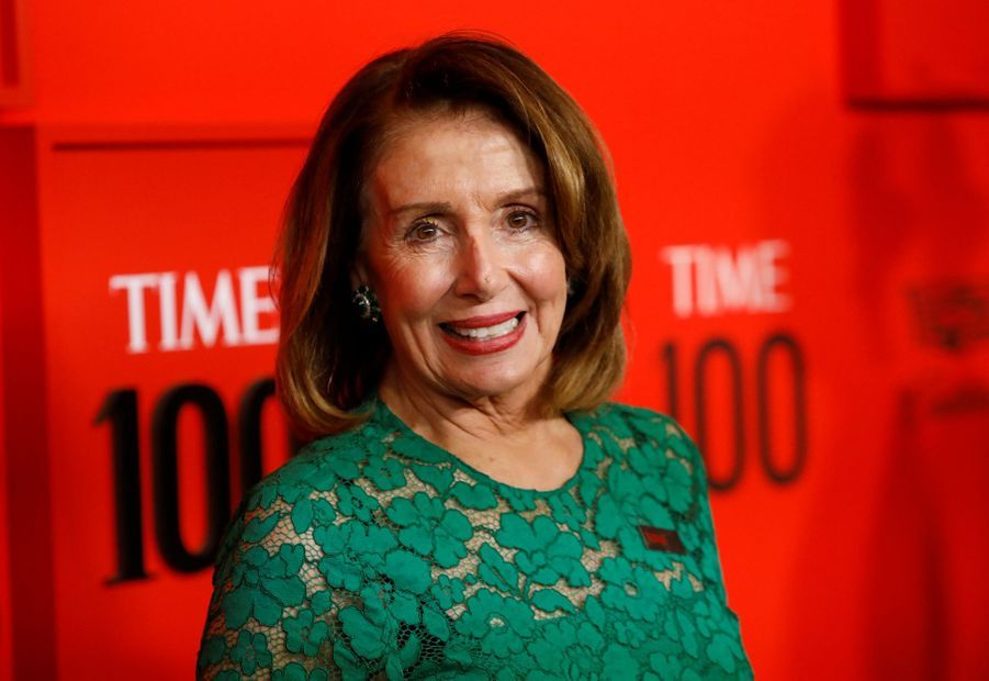 Nancy Pelosi au Time 100 Gala à New York le 23 avril 2019