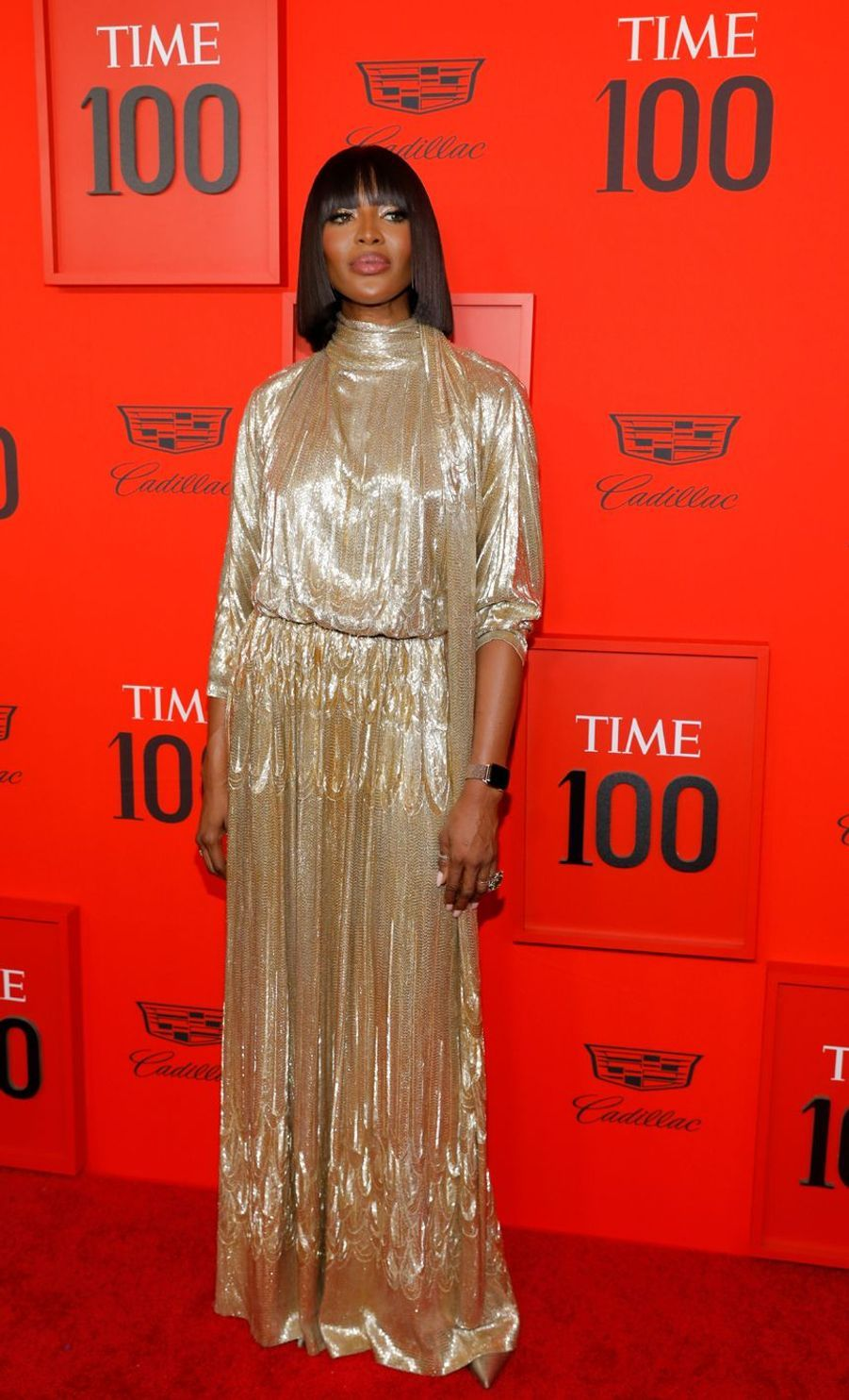 Naomi Campbell au Time 100 Gala à New York le 23 avril 2019
