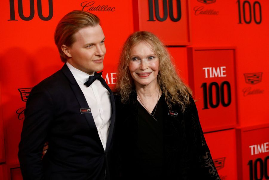 Ronan et Mia Farrow au Time 100 Gala à New York le 23 avril 2019
