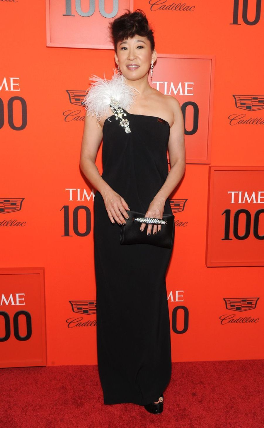 Sandra Oh au Time 100 Gala à New York le 23 avril 2019