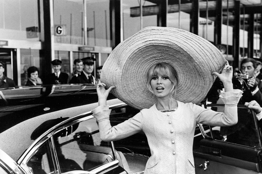 Brigitte Bardot en 1965.