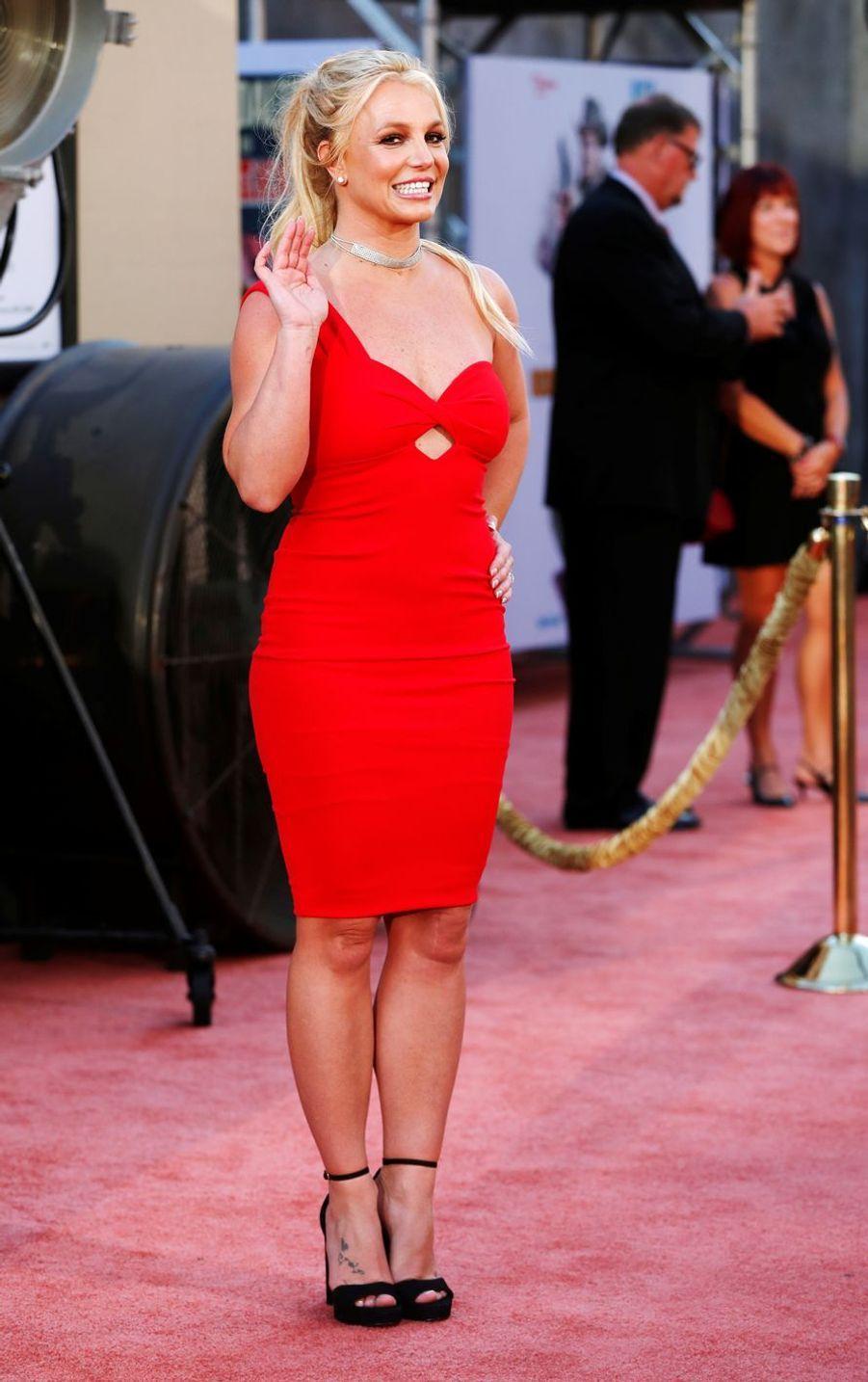 Britney Spears lors de la première de«Once Upon A Time In Hollywood», le 22 juillet 2019 à Los Angeles.