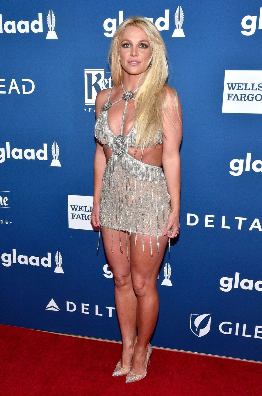 Britney Spears aux GLAAD Media Awards le 12 avril 2018