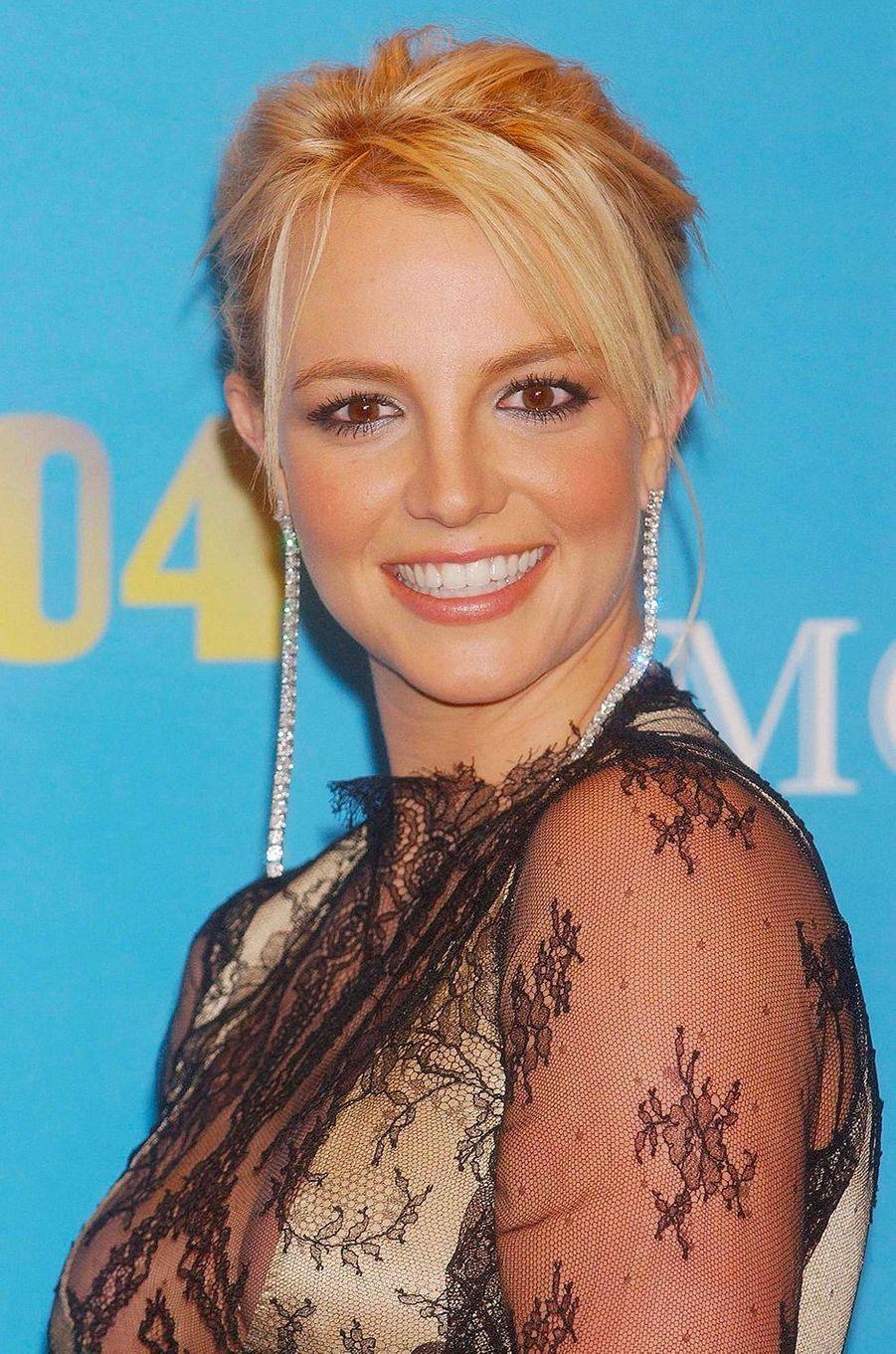 Britney Spears en décembre 2004