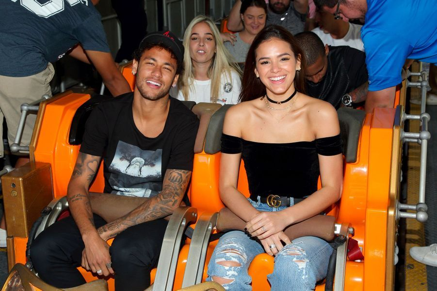 Bruna Marquezine et Neymar en juin 2017