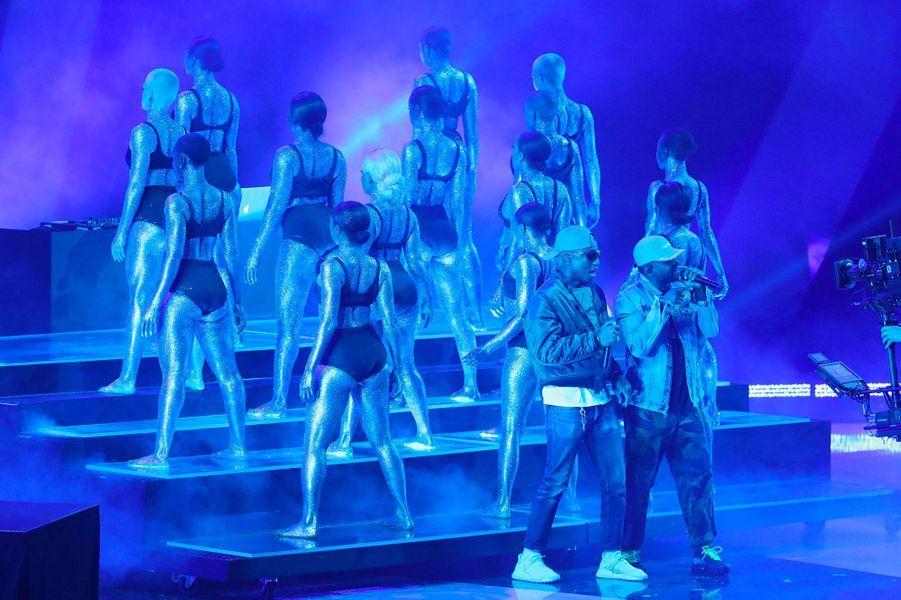N.E.R.D. sur la scène des iHeart Radio Music Awards