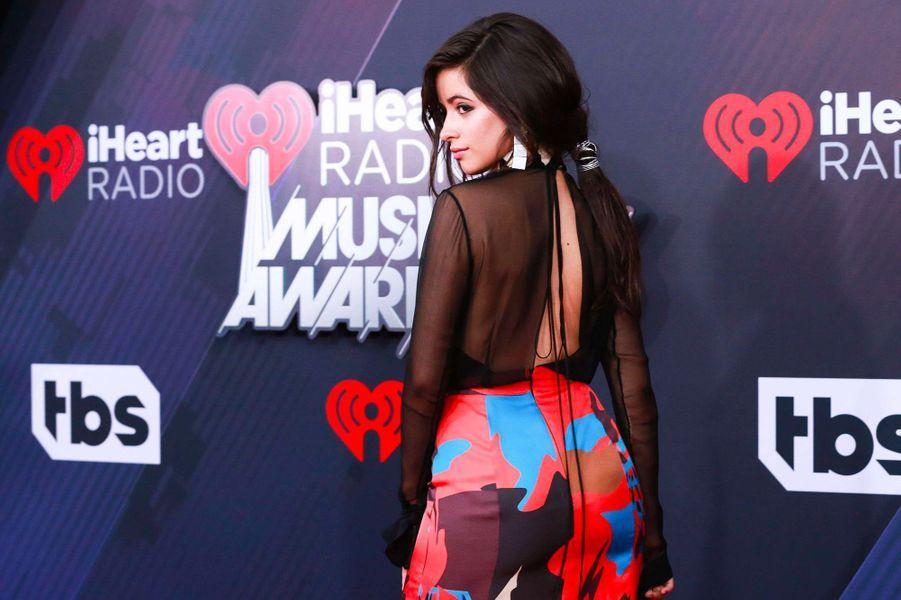 Camila Cabello aux iHeart Radio Music Awards