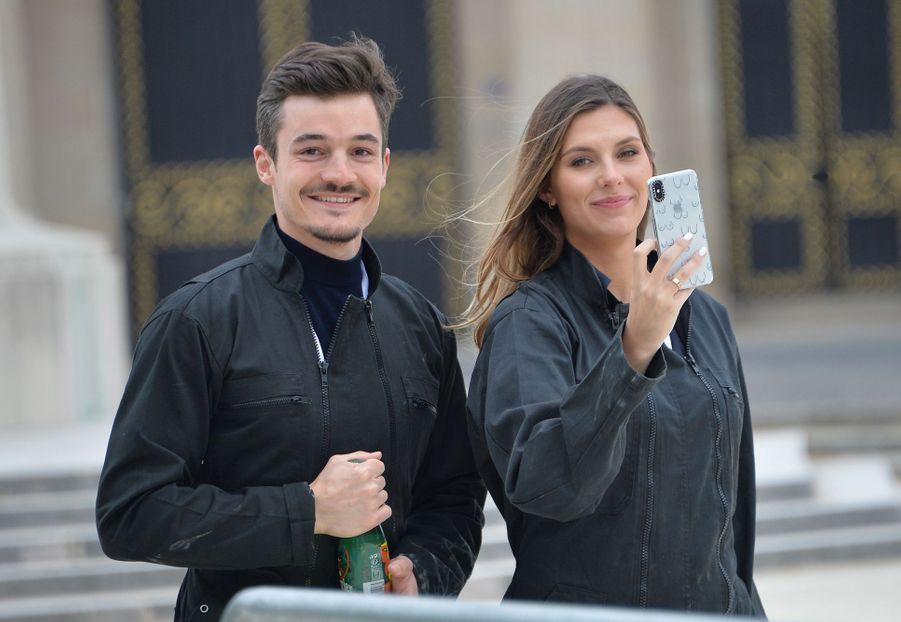 Camille Cerf et Cyrille Roty à Paris, le 29 mai 2019