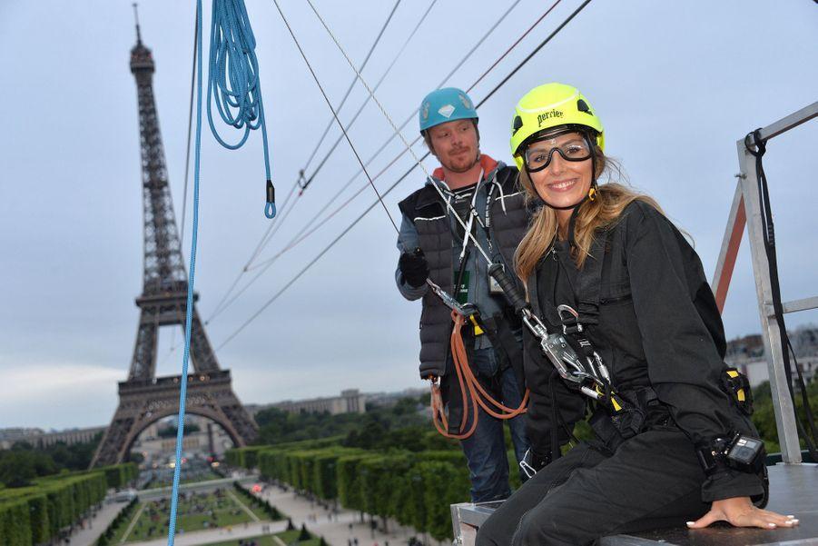 Camille Cerf à Paris, le 29 mai 2019