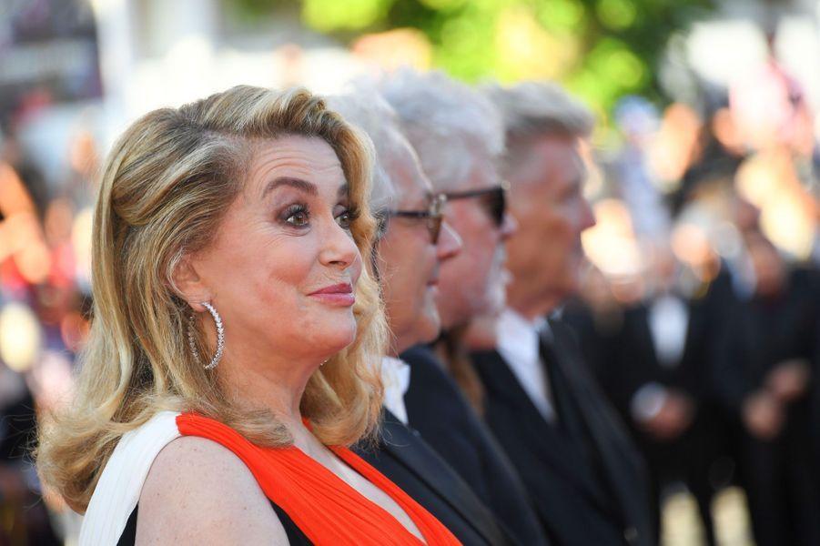 Catherine Deneuve à Cannes