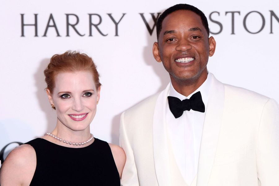 Jessica Chastain et Will Smith