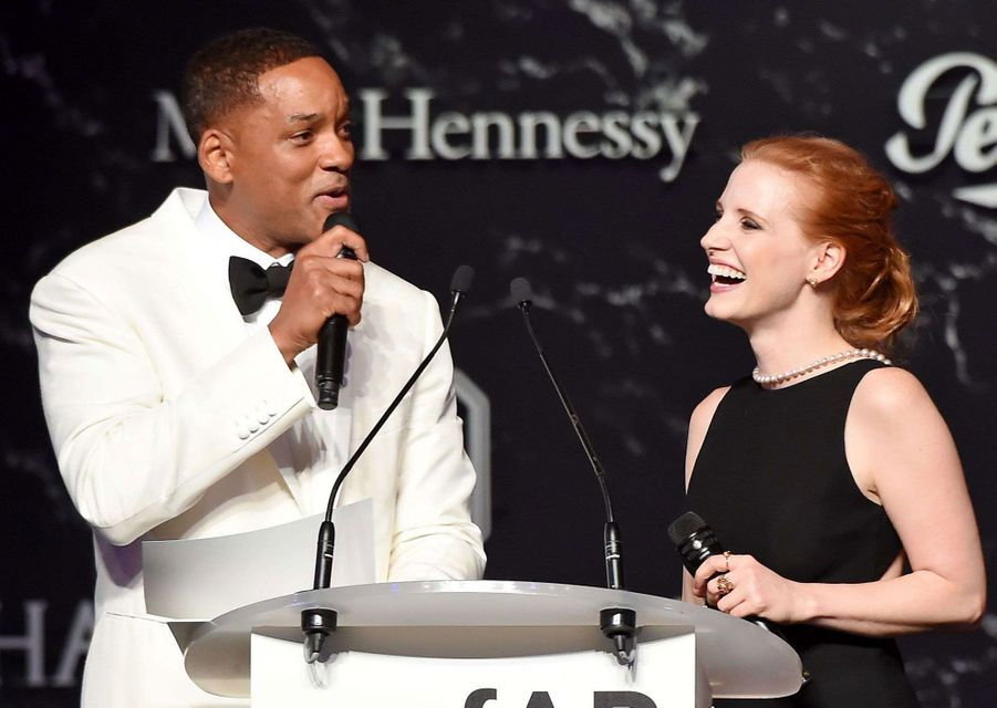 Will Smith et Jessica Chastain