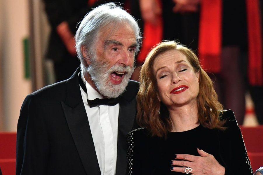 Michael Haneke et Isabelle Huppert