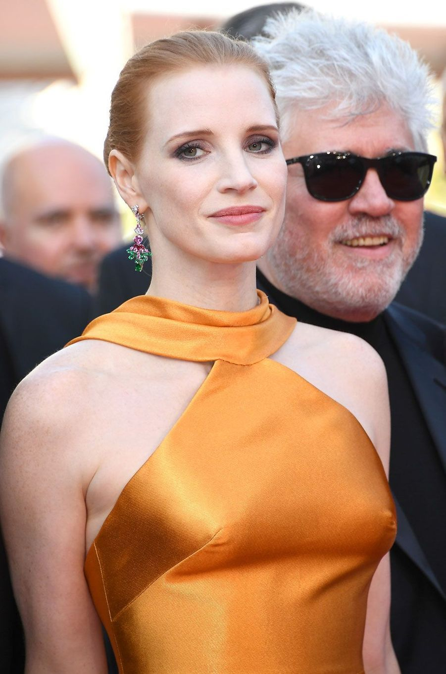 Jessica Chastain à Cannes.