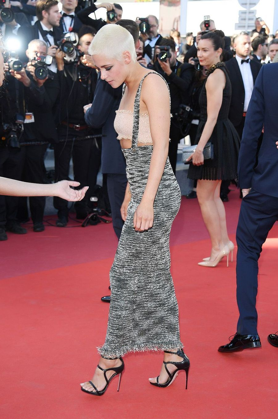 Kristen Stewart sur le tapis rouge du Festival de Cannes, le 20 mai 2017.