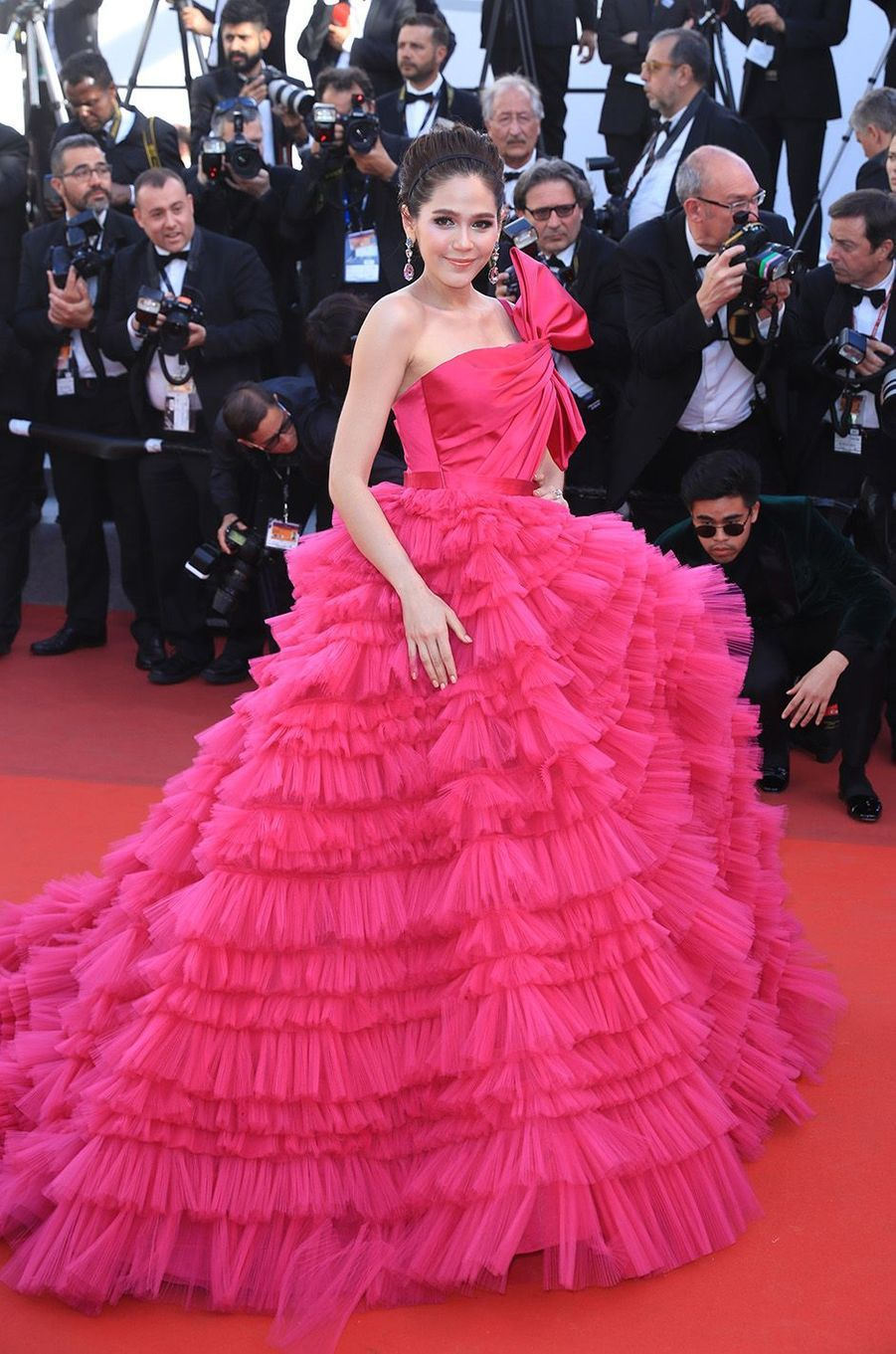 Araya Hargate à Cannes.