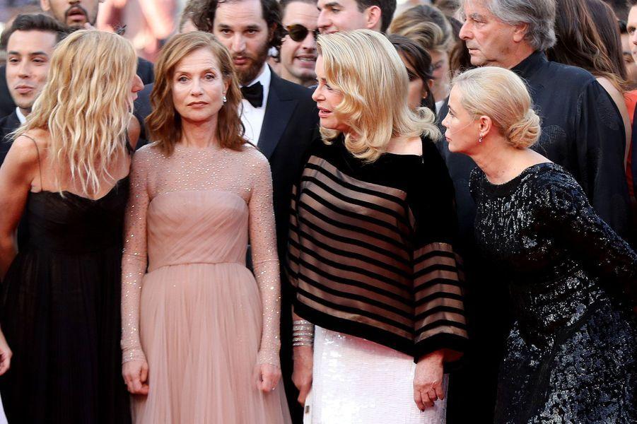 Sandrine Kiberlain, Isabelle Huppert, Catherine Deneuve et Emmanuelle Béart