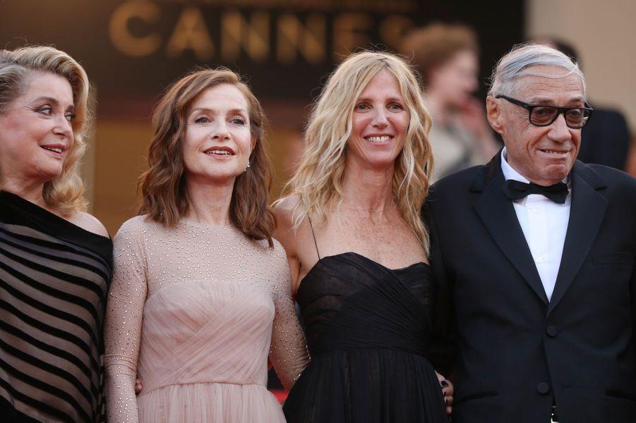 Catherine Deneuve, Isabelle Huppert et Sandrine Kiberlain.