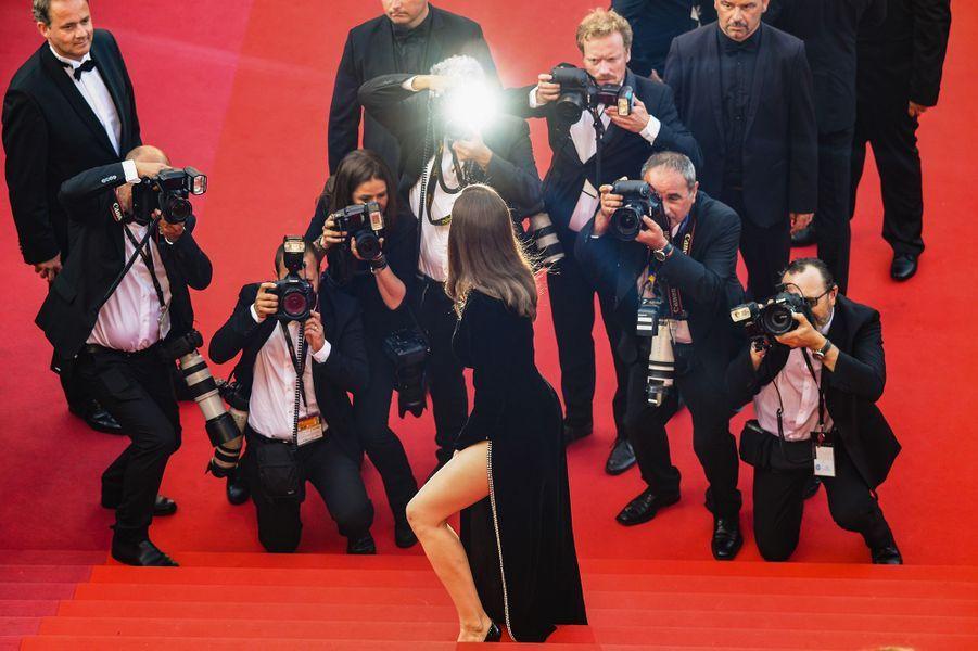 Laetitia Casta à Cannes, le 21 mai 2017.