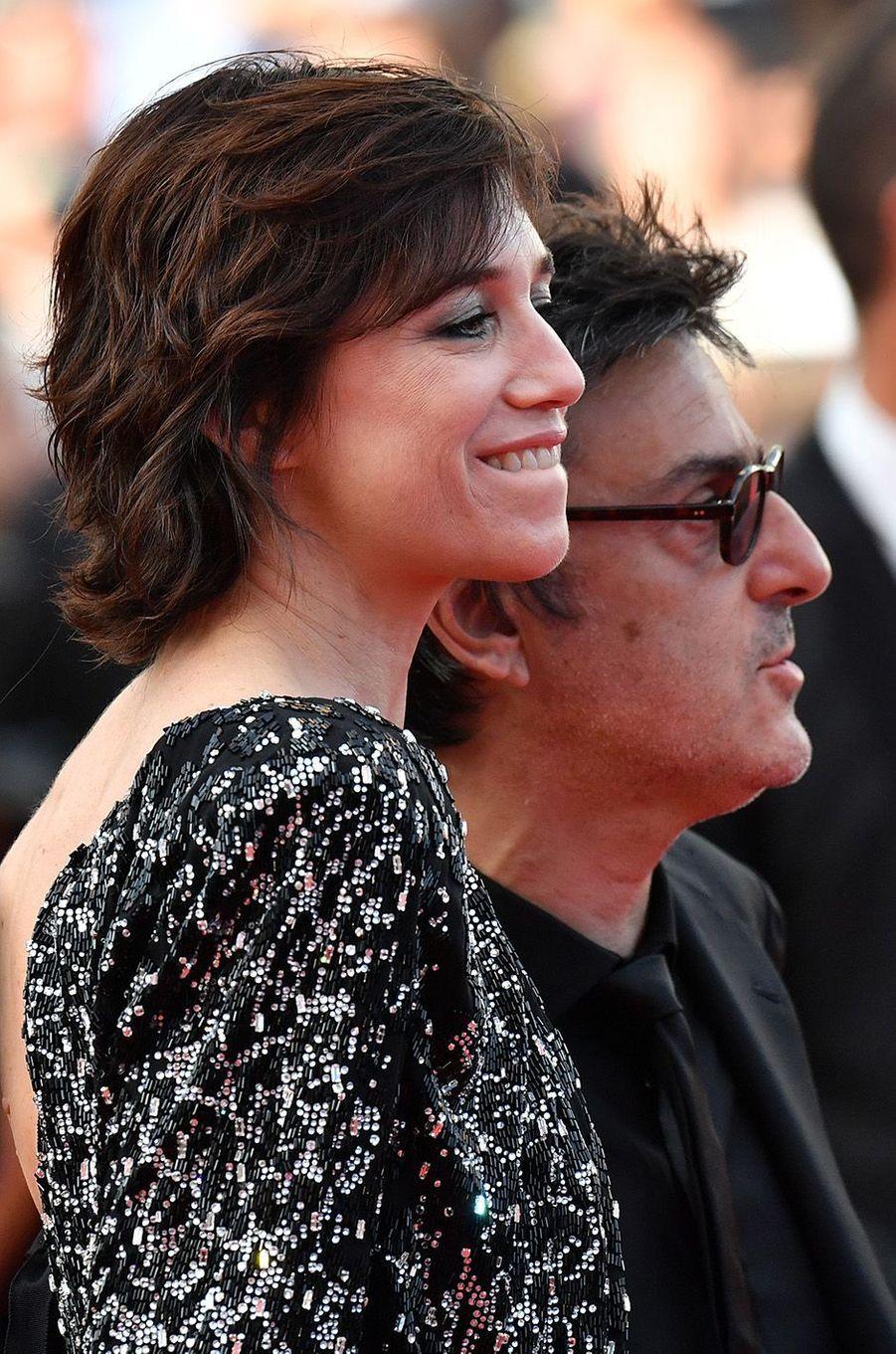 Charlotte Gainsbourg et Yvan Attal à Cannes.