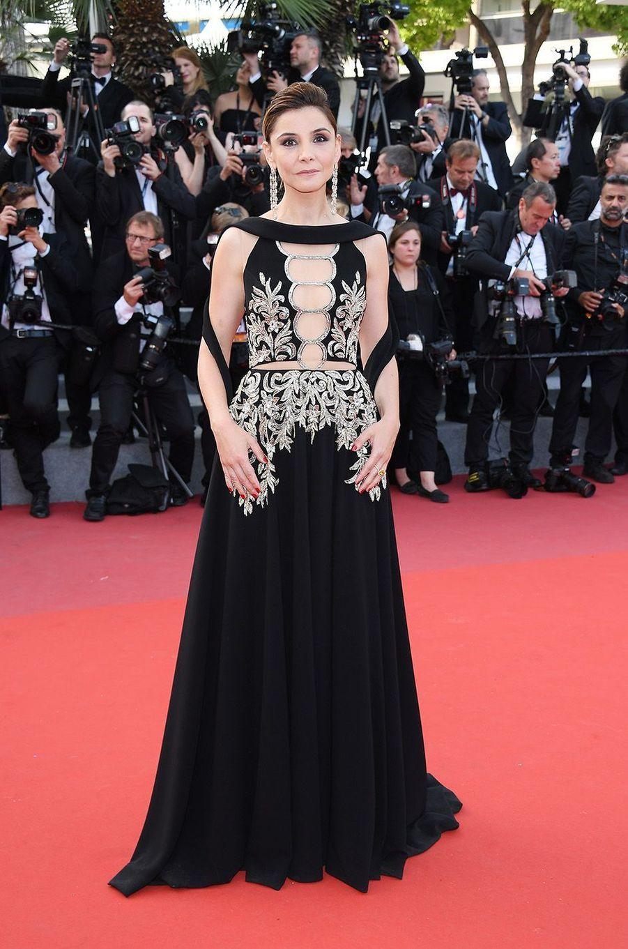 Clothilde Courauà Cannes, le 21 mai 2017.