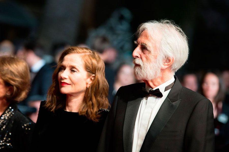 Isabelle Huppert et Michael Haneke