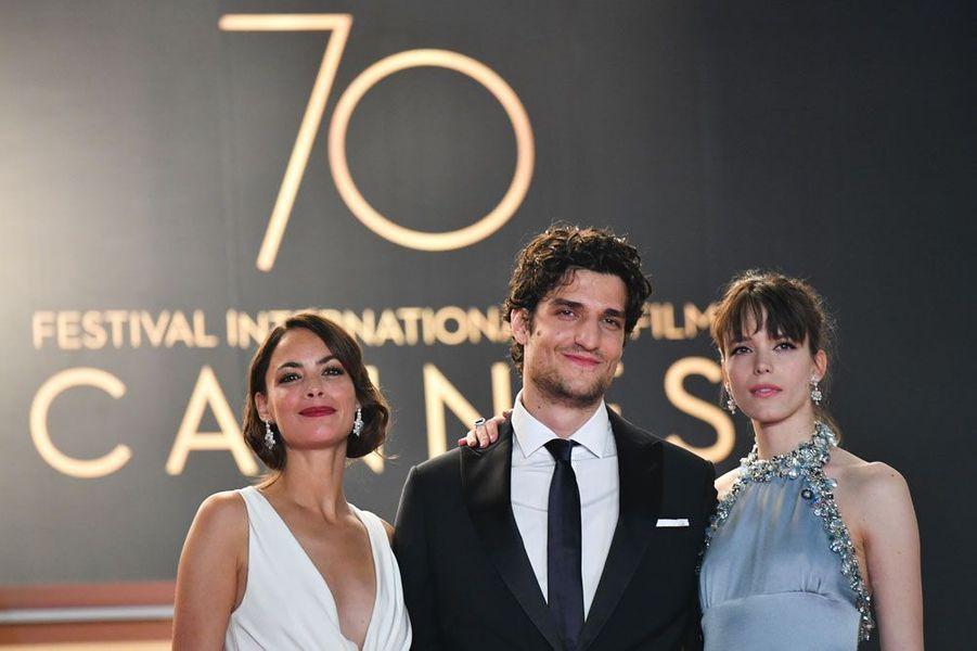 Bérénice Bejo, Louis Garrel et Stacy Martin