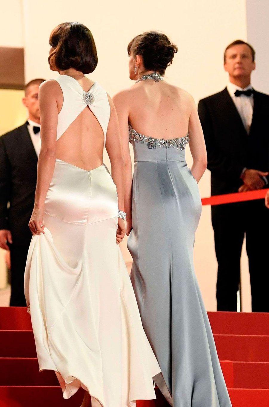 Bérénice Bejo et Stacy Martin