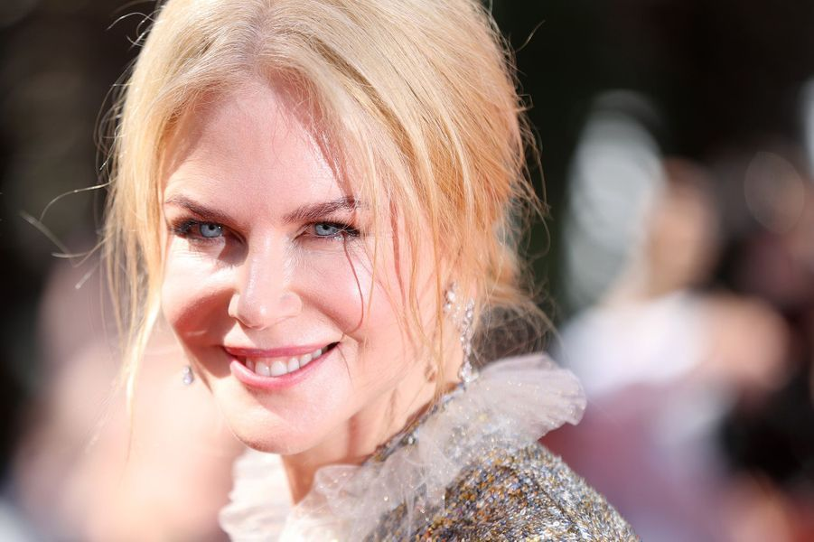 Nicole KidmanàCannes, le 21 mai 2017.