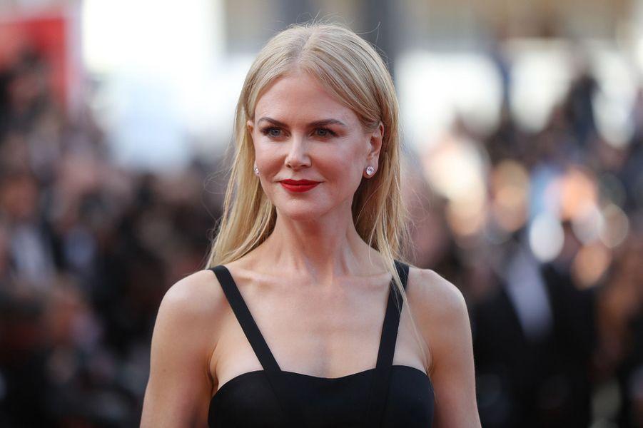 Nicole Kidman sur le tapis rouge du Festival de Cannes, le 22 mai 2017.