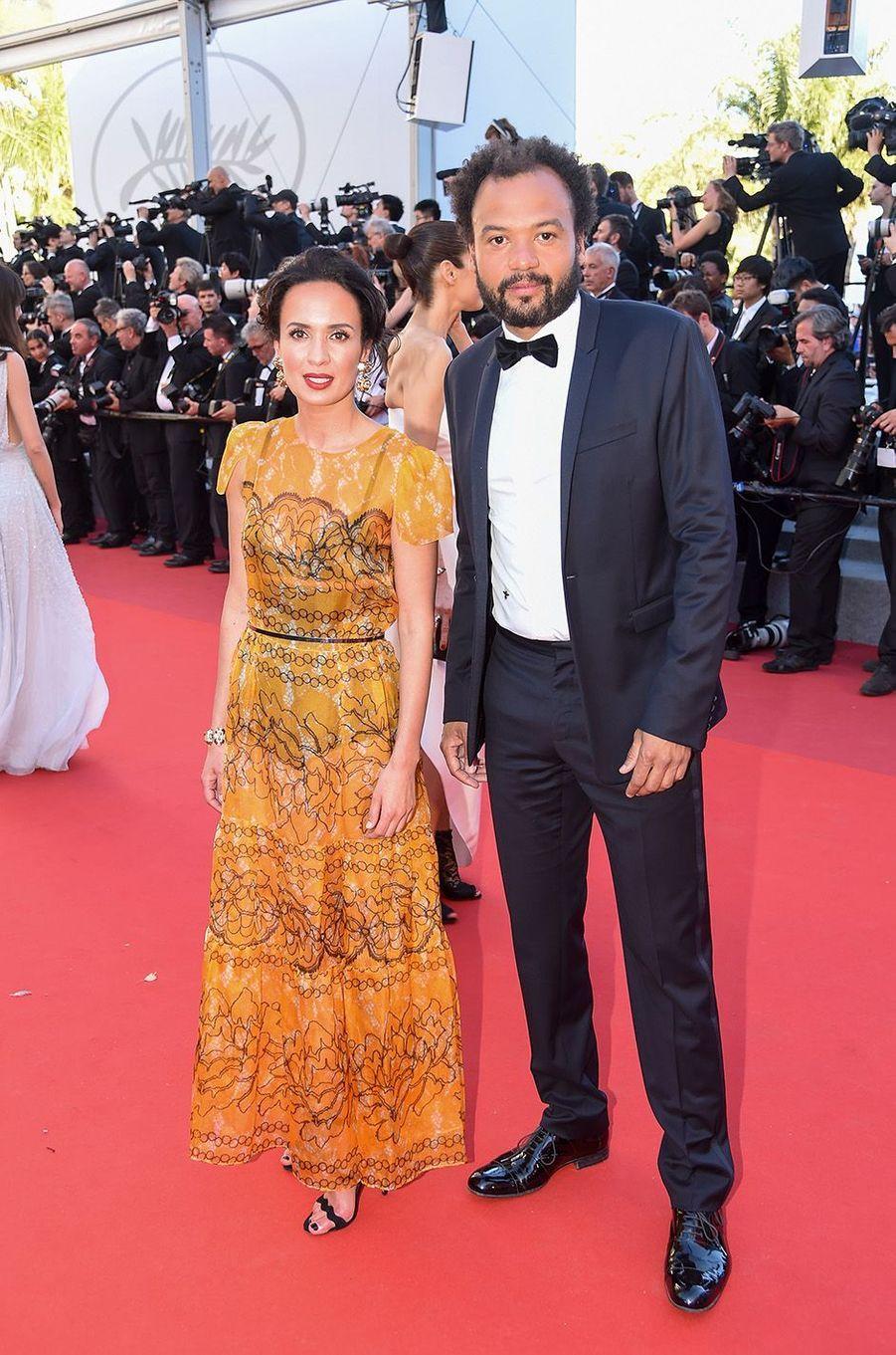 Amelle Chahbi et Fabrice Eboué