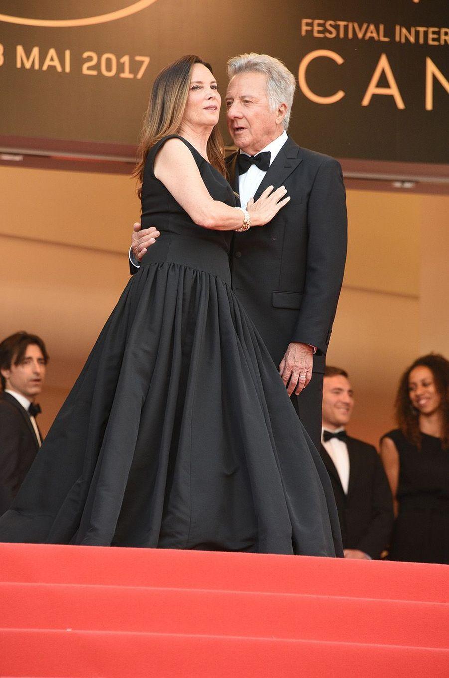 Dustin Hoffman et son épouse Lisa