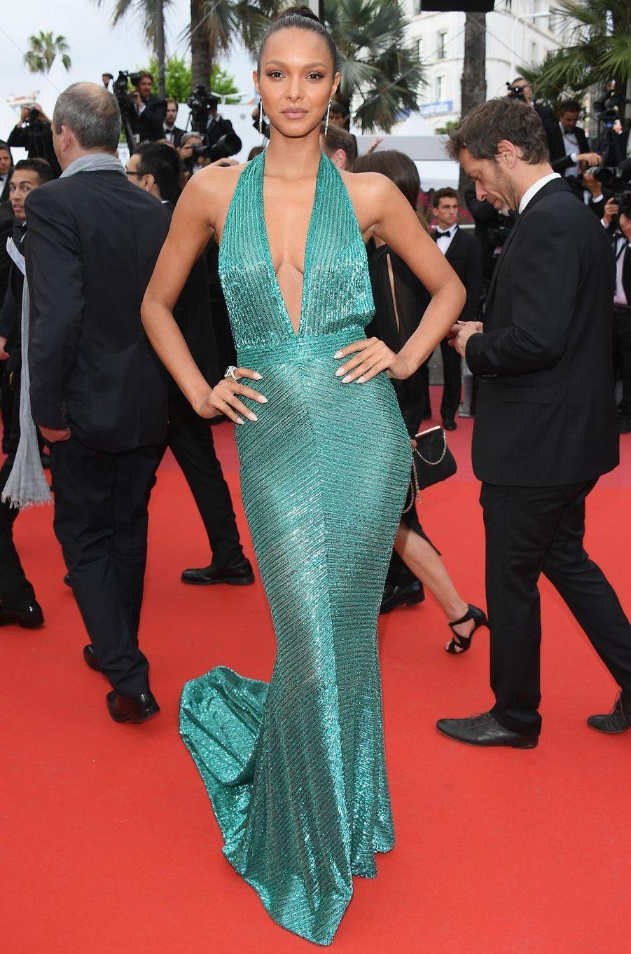 Lais Ribeiro à Cannes.