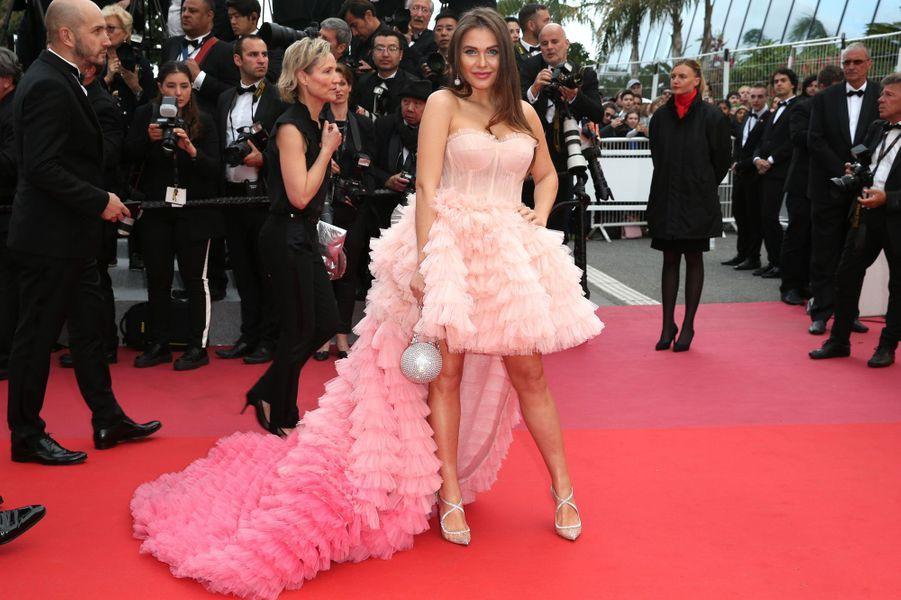 Karolina Zubkova-Mattes à Cannes.