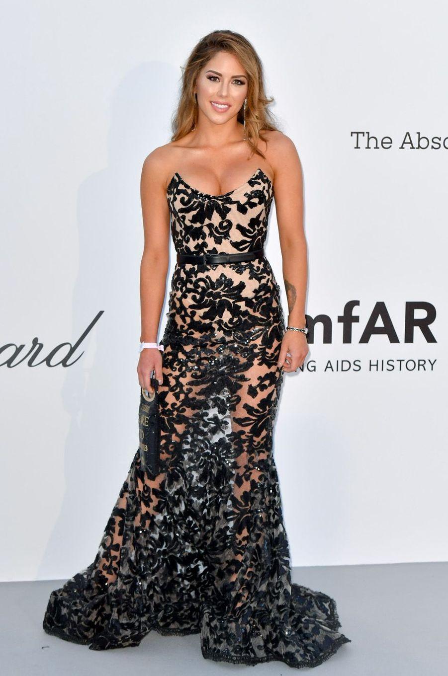 Brittney Palmer à Cannes.