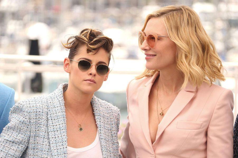 Kristen Stewart et Cate Blanchett au Festival de Cannes 2018