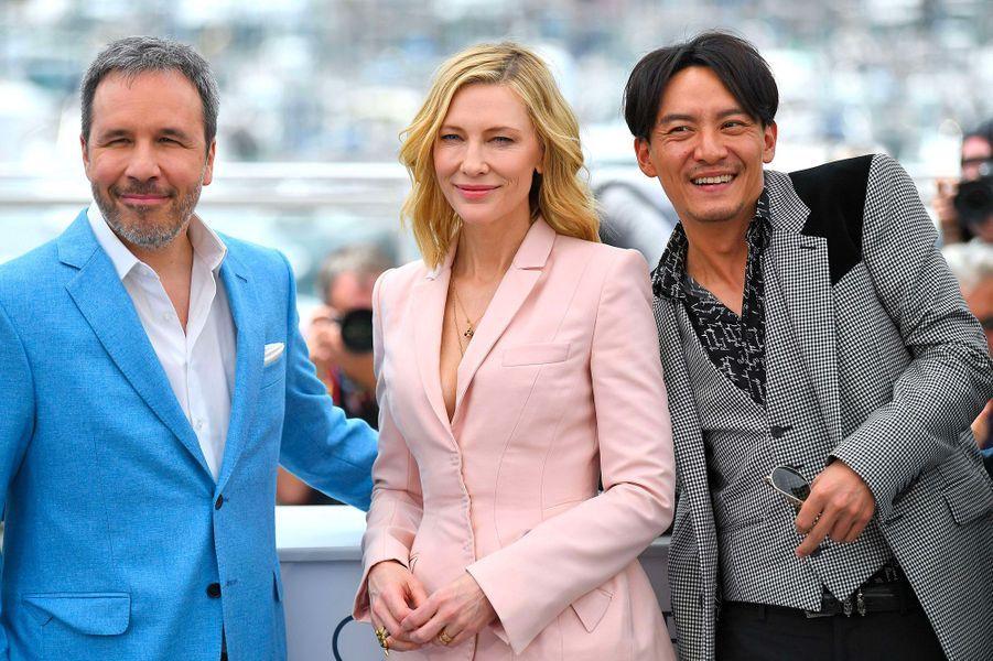 Denis Villeneuve, Cate Blanchett et Chang Chen