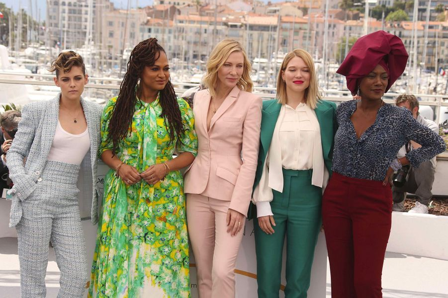 Kristen Stewart, Ava Duvernay, Cate Blanchett, Khadja Nin et Léa Seydoux