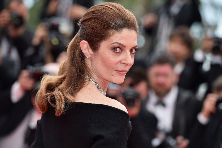Chiara Mastroianni, son grand retour sur la Croisette le 10 mai 2018.