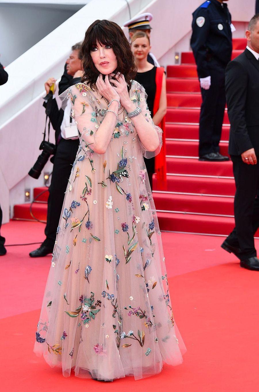 Isabelle Adjani à la cérémonie d'ouverture du 71ème Festival de Cannes