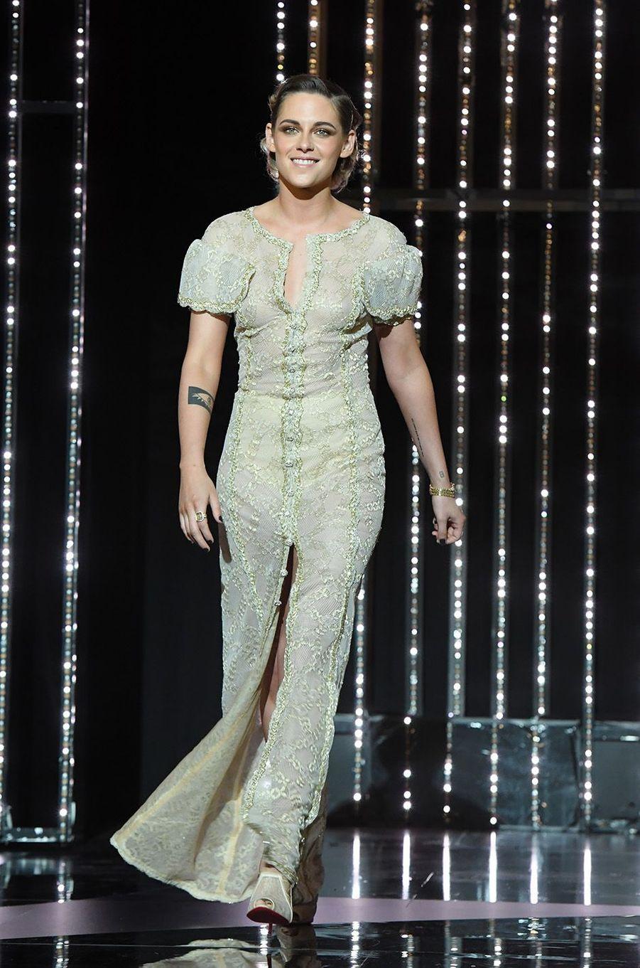 Kristen Stewart lors de la cérémonie de clôture au festival de Cannes, le 19 mai 2018.