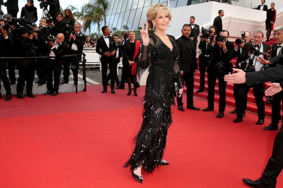 Jane Fondaà Cannes, le 13 mai 2018.