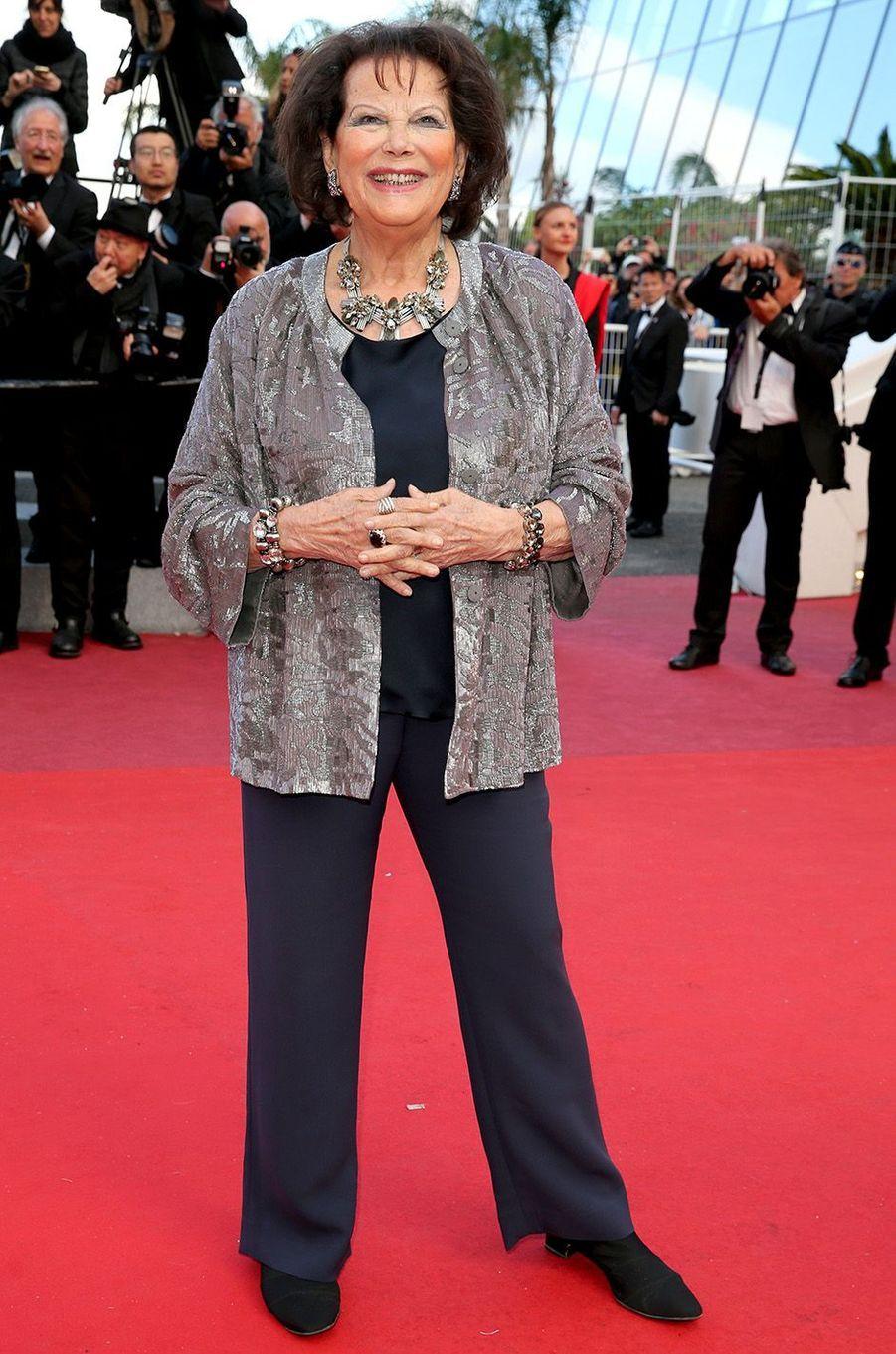 Claudia Cardinaleà Cannes, le 13 mai 2018.