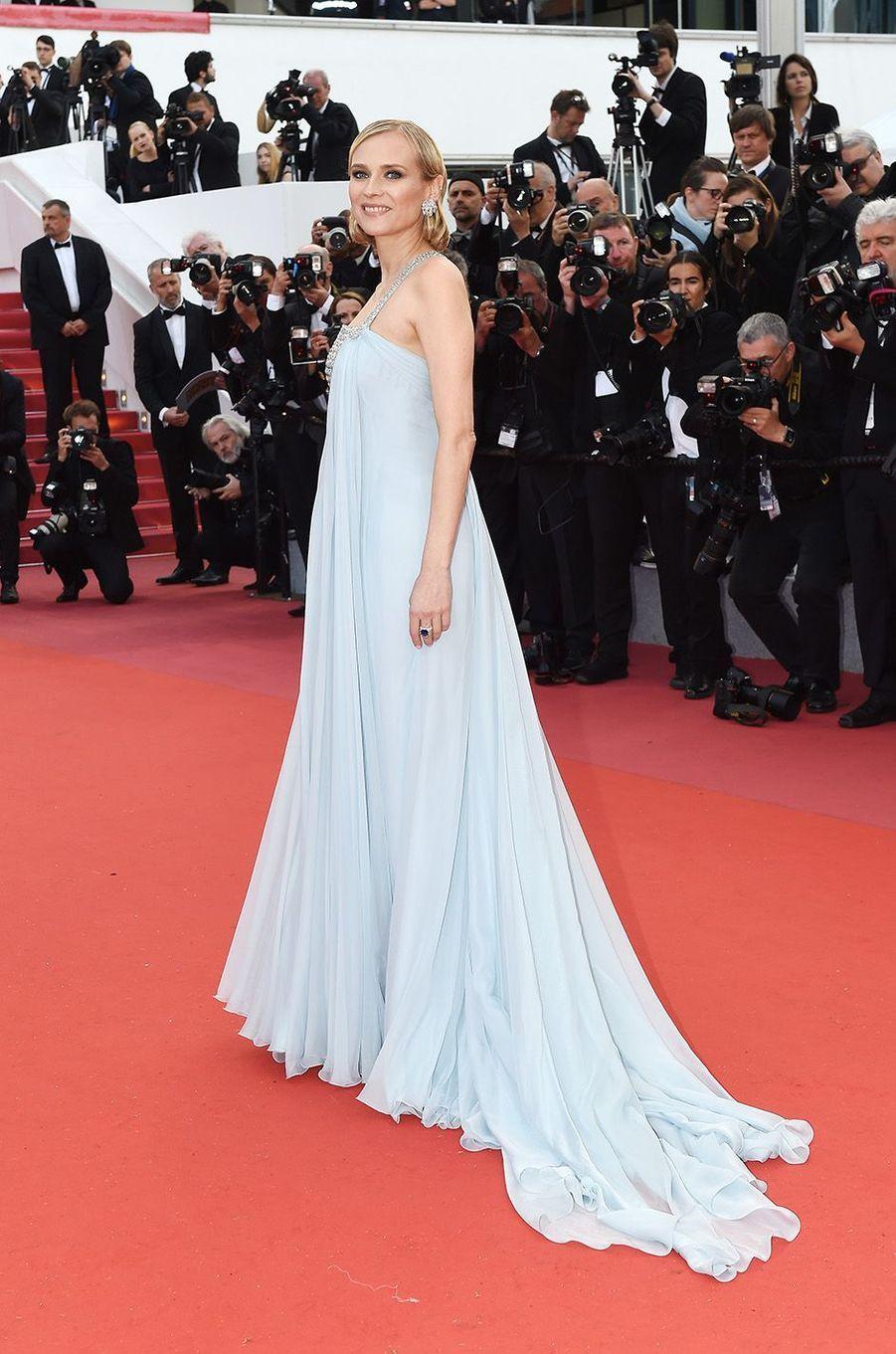 Diane Krugerà Cannes, le 13 mai 2018.