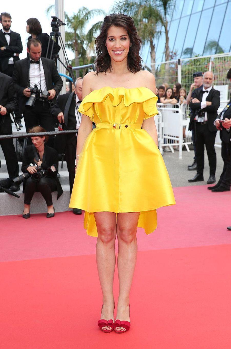 Laurie Cholewa à Cannes, le 18 mai 2018.