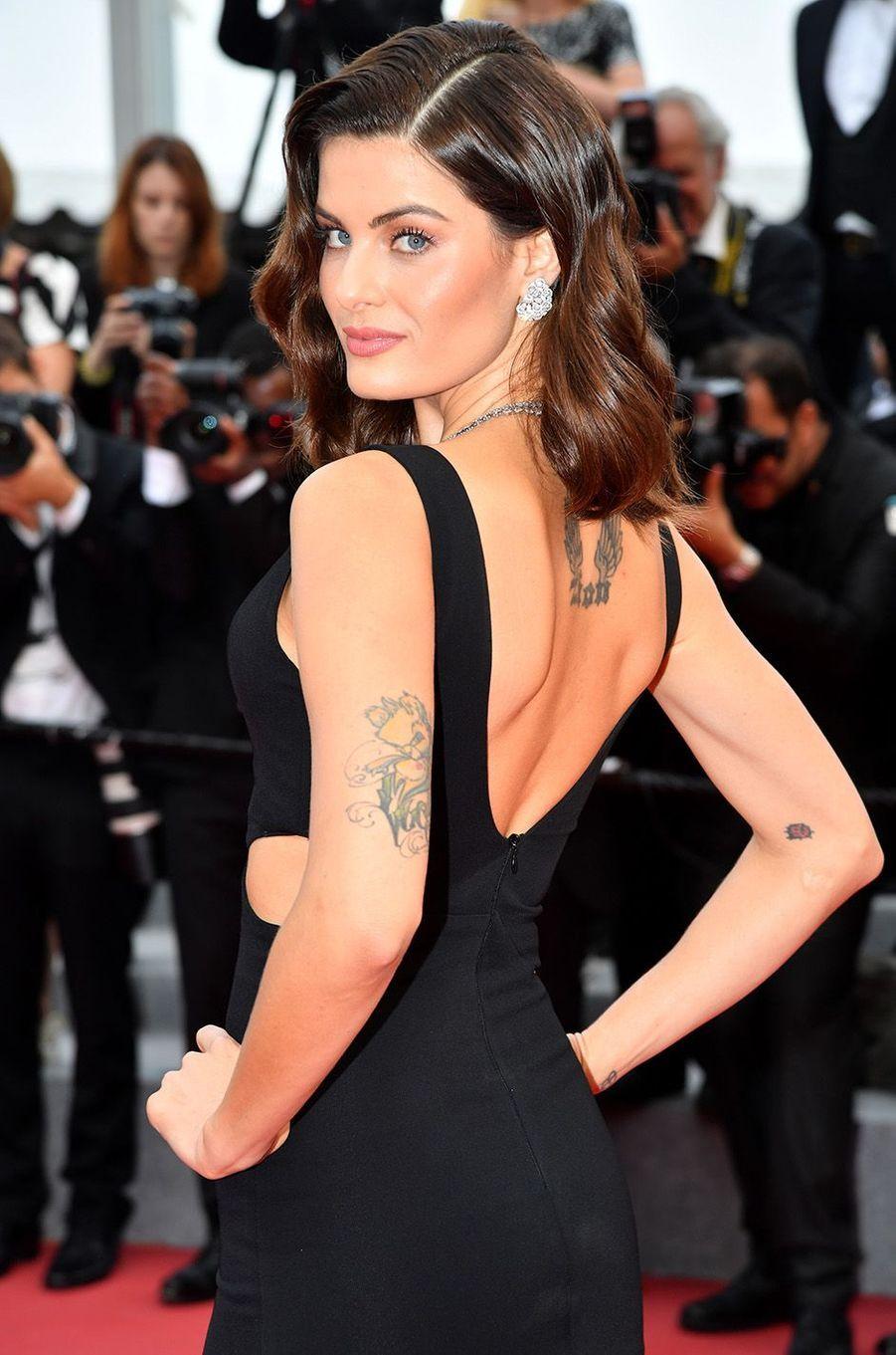 Isabeli Fontana à Cannes, le 18 mai 2018.