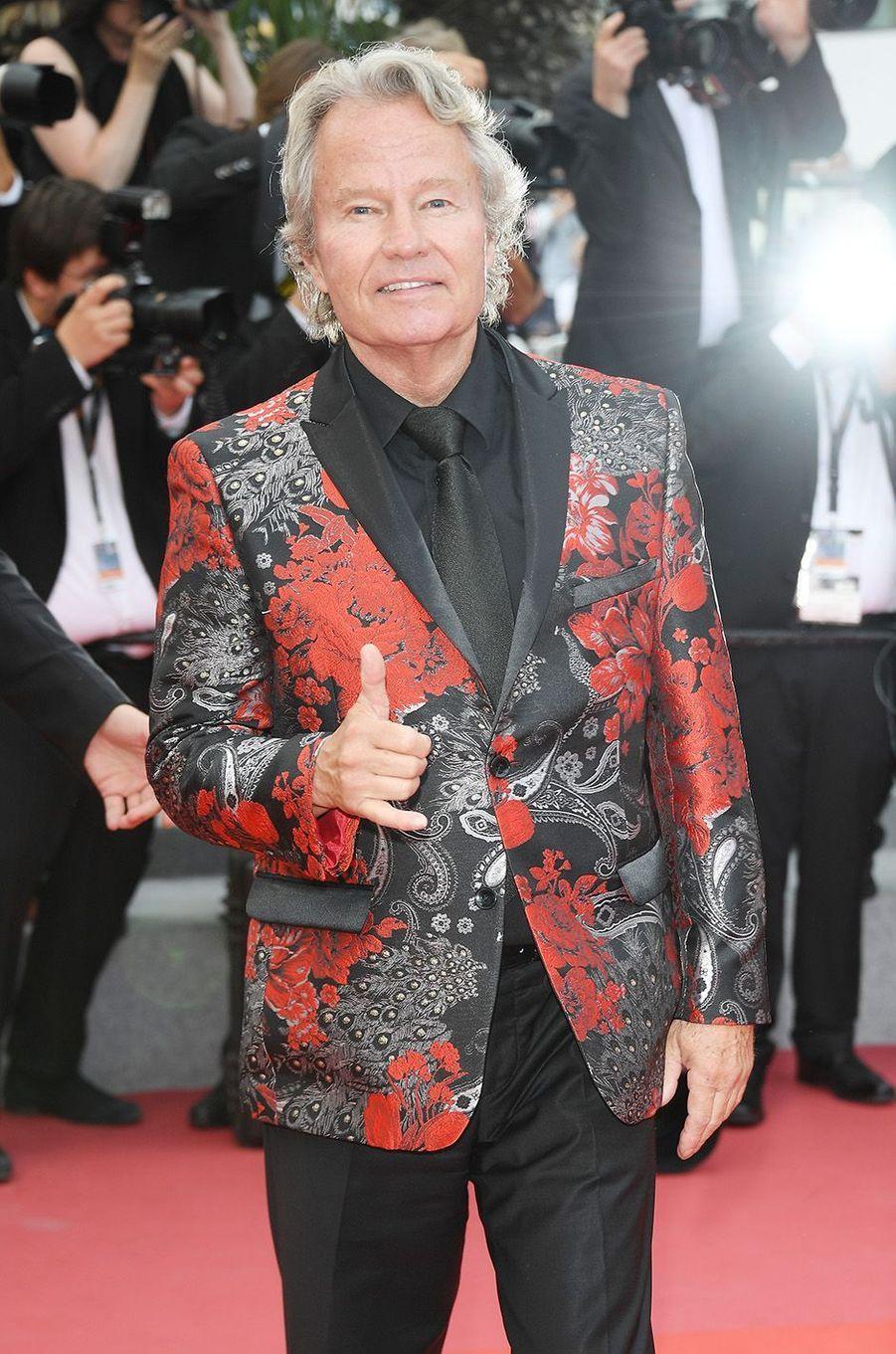 John Savage à Cannes, le 18 mai 2018.